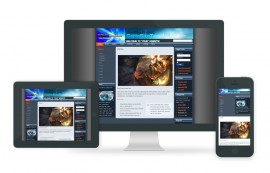 Free Gaming Joomla Template