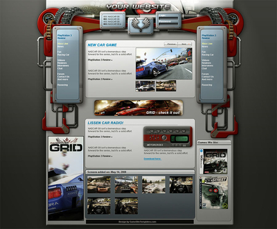 Racing Web Interface