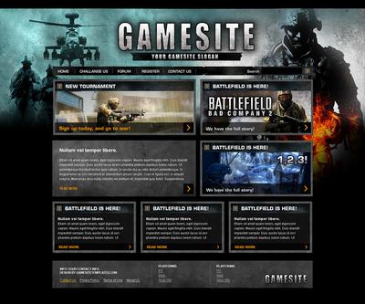 Battle Interface Template