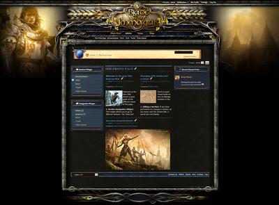 Blade Forum Skin V4