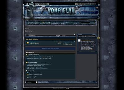 War COD Forum Skin V4