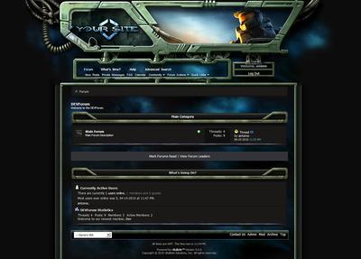 Gamers Forum Skin V4