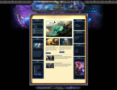 Guild War Wordpress Theme
