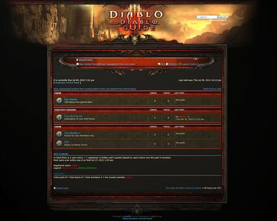 Diablo phpBB Skin