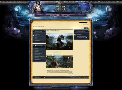 Guild War Forum Skin vB