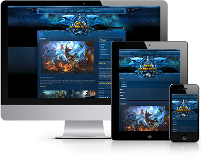 Craft Fantasy Joomla Template