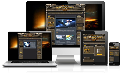SciFi Xgaming Joomla Template