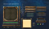 Fantasy Elves Game UI Template