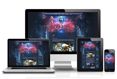 Pro Fantasy Joomla Template
