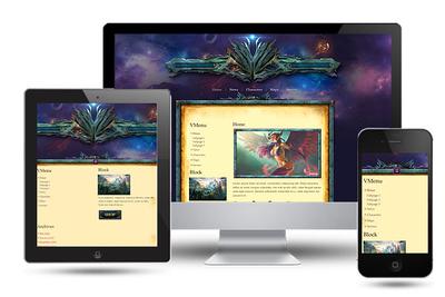 Smaug Fantasy Wordpress Theme