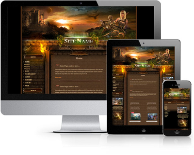 Ghost Ship HTML Template