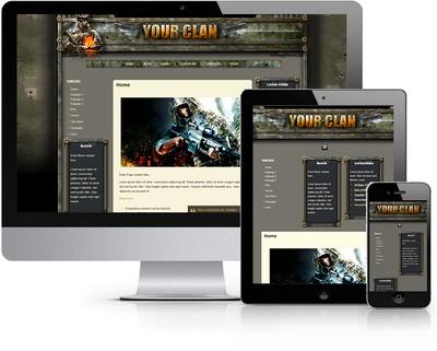 Desert Storm HTML Template