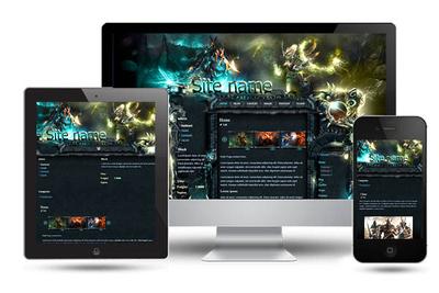 Fantasy Emerlad Wordpress Theme