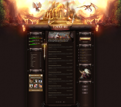 Divined Fantasy Web Template