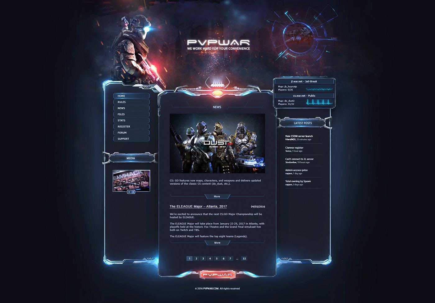 Free Clan Website Design