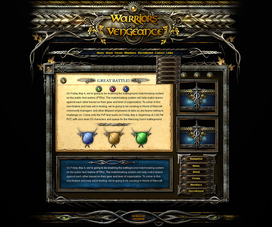 habbo hotel world of warcraft clan website templates and word