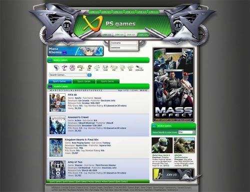 Xbox 360 website design