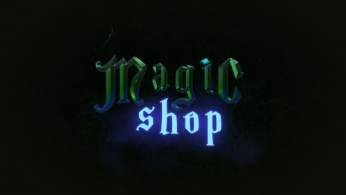 Magic Shop Game Logo