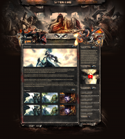 Darksiders Game Web Template