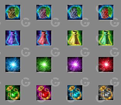 Basic Game RPG Icons