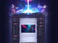 EVOK Game Website Template