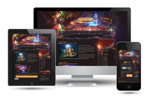 Legion Game Wordpress Template