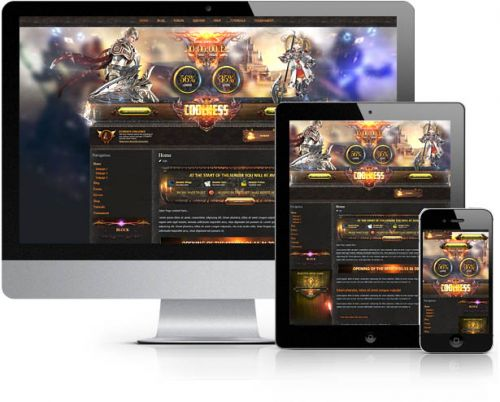 Linage Glory Wordpress Theme