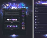 Aion Battle Web Design