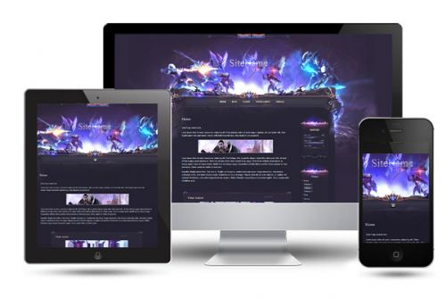 Aion Battle Wordpress Theme