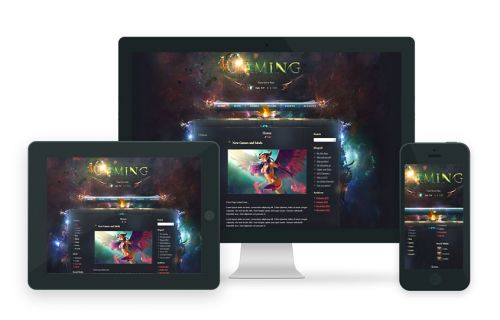 Awe Gaming Wordpress Theme