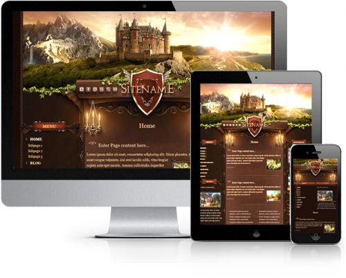 Castle Land Joomla Template