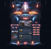 Catacomb Fantasy Web Design