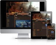 Dark Dragon Wordpress Theme