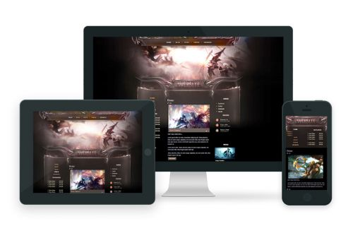 Dragon Warriors Wordpress Theme