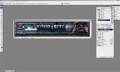 Edit website header tutorial