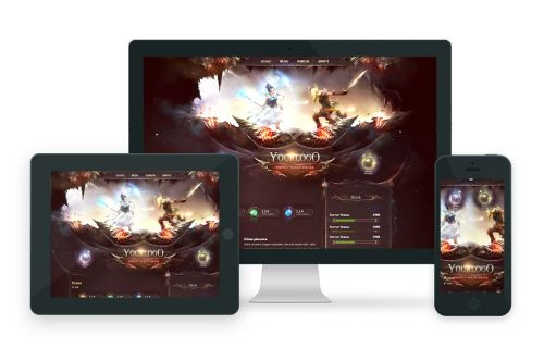 Fantasy World Wordpress Theme