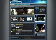 Gamers Website Interface