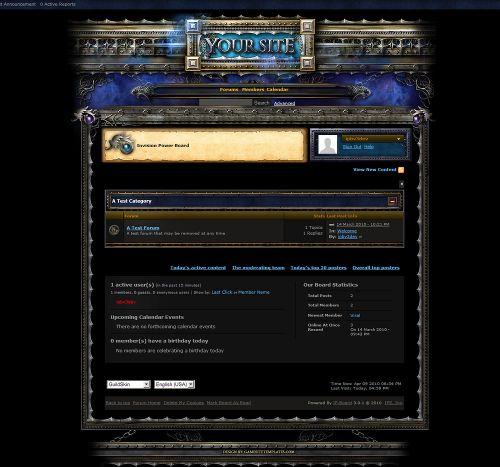 Guild GameSite Skin V3