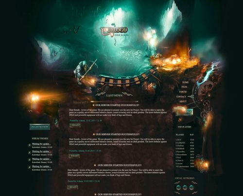 Magic Mine Web Design