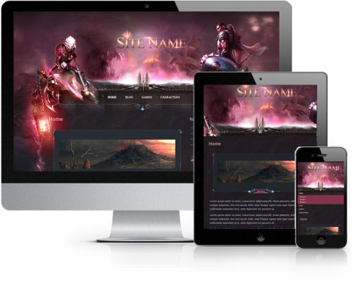 Nightwish Wordpress Theme