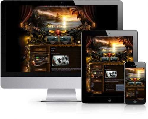 Pirates Wordpress Theme