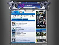 Playstation website template