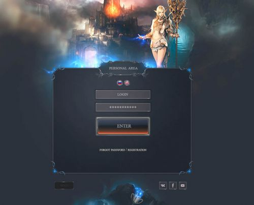 Rivendell Fantasy Web Template