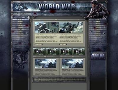 War Template
