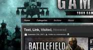 Battle Wordpress Theme