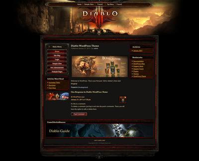 Diablo WP Theme