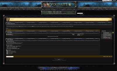 Warcraft Forum Skin Fluid