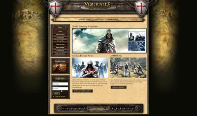 Templar Knight Theme