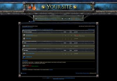 Warcraft phpBB Skin