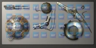 Mechanic Interface Graphics
